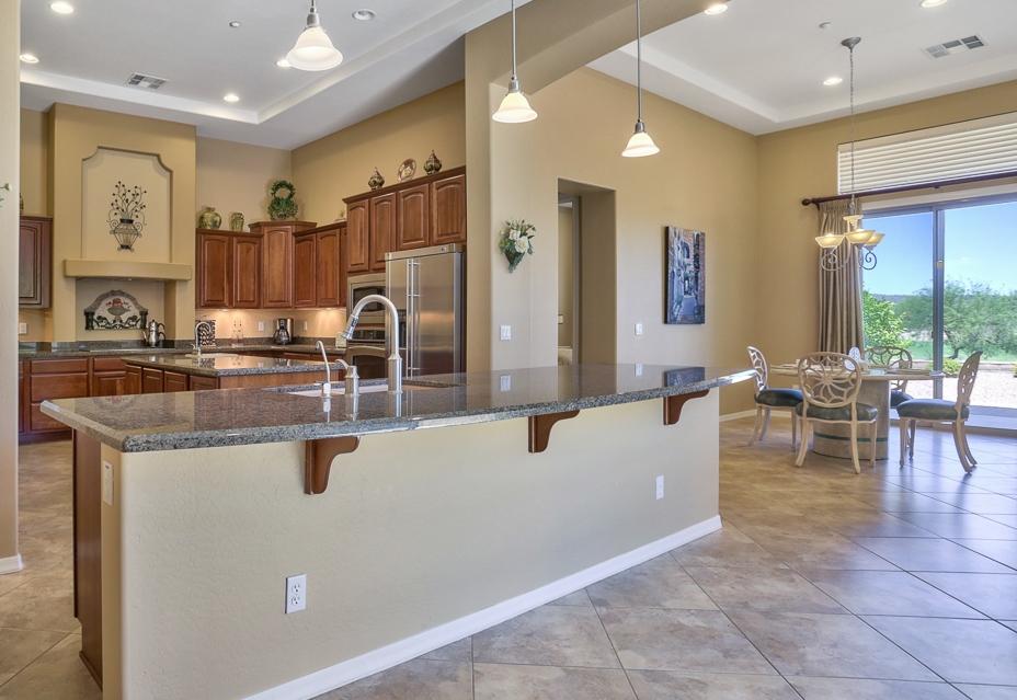 Kitchen view, 28347 N. 123rd Lane, listing by Friedman Realty Associates