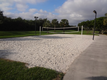 Heron Bay Commons Sand Volleyball Court