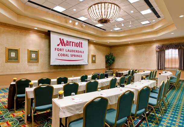 Heron Bay Marriott Conference Rooms