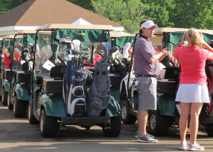 Holly Springs has a golf tournament every spring