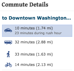 bloomingdale commute details infographic
