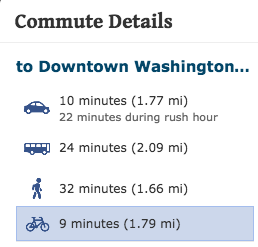 columbia heights commute details